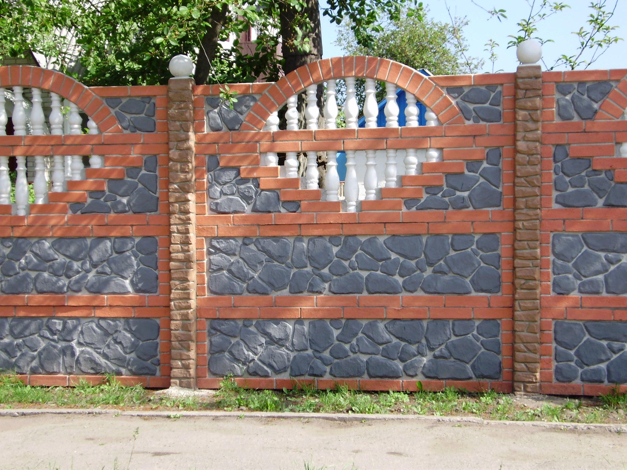 Оригинально покрасить забор из штакетника фото преимущество